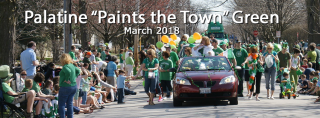 Celebrate St Patrick's Day by Painting the Town Green in Palatine